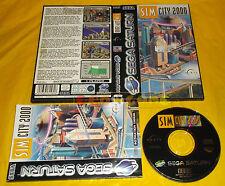 SIM CITY 2000 Sega Saturn Versione Europea PAL SimCity ○○○○○ COMPLETO