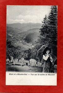 cpa 68 Blick in's Münsterthal - Vue sur la vallée de MUNSTER