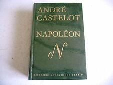 NAPOLEON andré castelot histoire biographie 1968