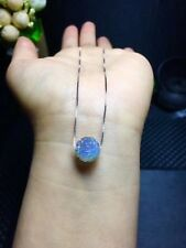Natural Moonstone Gemstone Carved Round Meander Bead Pendant For Healing