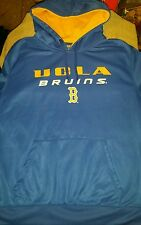Mens XXL Colosseum blue and yellow UCLA Bruins hoodie with pockets NWT
