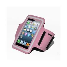 Custodia da braccio per Apple iPhone 5 color Rosa compatibile