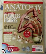 ANATOMY ESSENTIALS + DVD FLAWLESS FIGURES Drawing Worksshops IMAGINE FX Creature