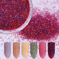 3g BORN PRETTY Nail Sandy Glitzer Pulver Nail Art  Nagel Puder Glitter Dust DIY