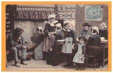 INDUSTRIES BRETONNES (29) RESTAURANT CREPERIE / CHEZ LA CREPIERE en 1906