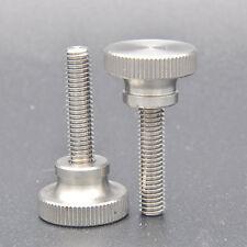 4pcs  M6 x 25mm Knurled Flat Head Thumb stainless steel Screw Bolts