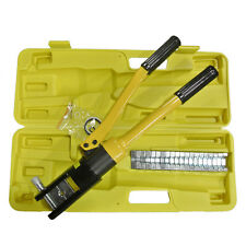 """16 Ton Hydraulic Wire Cable 18"""" Crimper Tool Kit Crimp Plier Crimping Plumber"""