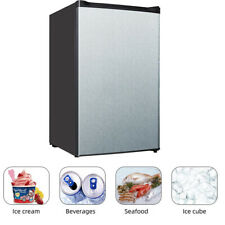 SMAD Compact Upright Freezer 3.0 Cu. Ft Reversible Door Removable Shelves Office