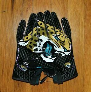 Nike Vapor Knit Jacksonville Jaguars NFL Football Gloves Mens 3XL PGF397-151 New
