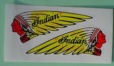 Pair of Large Indian Motorcycle Stickers
