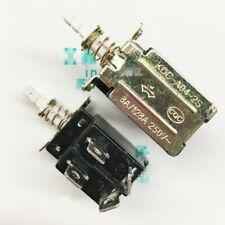 10PCS NEW KDC-A04-2S 8A 250V AC DPST 4 Pins Push Button Power Switch #V4331-1 CH