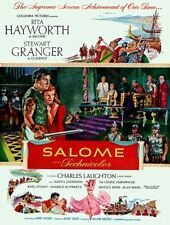 RARE 16mm Feature: SALOME (FUJI COLOR) RITA HAYWORTH / STEWART GRANGER