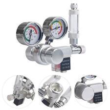 Aquarium CO2 Regulator Mini Dual Gauge Displays with Bubble Counter Check Valve