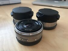 Sony SEL16F28 16mm f2.8 E Mount Combo Wide Angle/fish Eye Converter