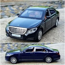 Mercedes Maybach S600 1:32 Scale Diecast Metal Car Model Collection Sound Toy
