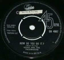 """GERRY AND THE PACEMAKERS * HOW DO YOU DO IT * Original 7"""" Vinyl Single"""