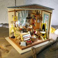 Rolife Holzpuppenhäuser Miniatur Möbelzubehör  DIY Schneiderei Modellbausätze