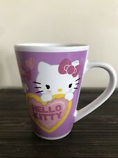 Hello Kitty Mug Cup Pink/Yellow w/ Candy & Hearts by Sanrio