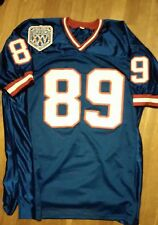 Super Bowl XXV MARK BAVARO New York Giants autographed signed jersey STEINER COA