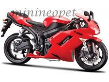 MAISTO 20-07118 KAWASAKI NINJA ZX-6R BIKE MOTORCYCLE 1/12 RED