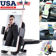 Cd Slot Car Phone Holder 360° Universal Cell Phone Car Mount for iPhone Samsung