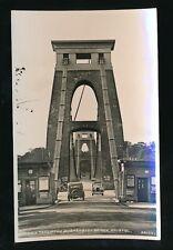 Gloucestershire BRISTOL Clifton Bridge entrance c1930/40s? RP PPC Harvey Barton