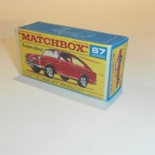 Matchbox Lesney Superfast 67 b Volkswagen 1600TL empty Repro F-SF2 style Box