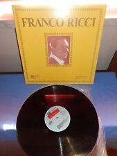 "FRANCO RICCI ""SAME"" LP PHONOTYPE AZQ 40075 ITA - GATEFOLD"