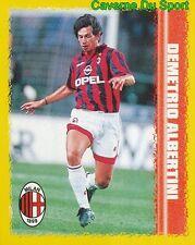 102 DEMETRIO ALBERTINI AC.MILAN FIGURINE STICKER CALCIO KICK OFF 98 MERLIN