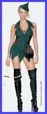 Deluxe Sexy Robin Hood Halloween Costume Forest Outlaw Women Small Medium Dress