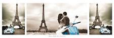 Paris Poster - Eiffelturm Triptyque und ein Ü-Poster geschenkt!