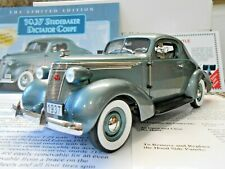 Danbury Mint 1:24 1937 Studebaker Dictator Coupe Limited Edition