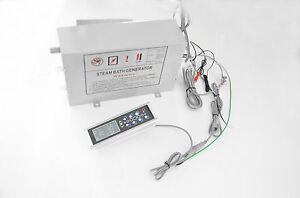 Dampfgenerator Dampferzeuger 2,8 kW Dampfdusche Dampfgerät LXWMK-008