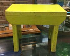 Vintage? Green Timber Small Stool