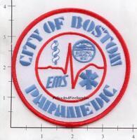 Massachusetts - Boston EMS Paramedic MA Fire Dept Patch