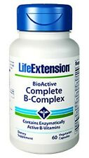 LIFE EXTENSION, BioActive COMPLETE B-COMPLEX - 60 Veg Capsules