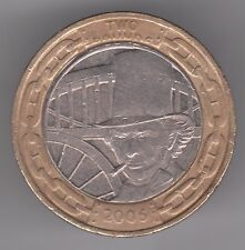 Royaume-Uni £ 2 LB (environ 0.91 kg) 2006 COIN - 200th anniversaire de Isambard Kingdom Brunel