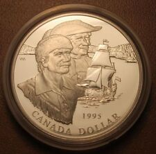 "Canada ""MOUNTAIN MAN"" 1995 Silver Dollar"
