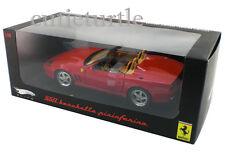 Hot Wheels Elite N2054 Ferrari 550 Barchetta Pininfarina 1:18 Diecast Red