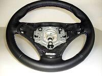 e91 con mascherina moltif ROSSO-P ALCANTARA VOLANTE Volante in Pelle BMW M-Power e90