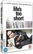 Life's Too Short Season 1 Region 4 DVD The Complete First Series One Lifes