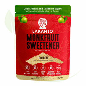 Lakanto - Golden Monkfruit 1:1 Sugar Substitute 200g