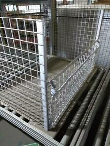 Lagerboxen, Metallboxen Lagerkisten Gitterboxen H: 80 x B: 112 x L: 81 cm