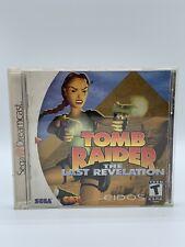 New listing Tomb Raider: The Last Revelation (Sega Dreamcast, 2000) Lara Croft - Complete