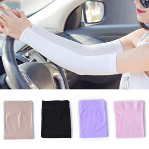 Men Women Arm Sleeves Summer Sun UV Protection Outdoor Driving Arm Covers UK