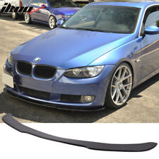 Fits 06-13 BMW E90 E92 3 Series 2Dr 4Dr Front Bumper Lip Spoiler - Urethane PU