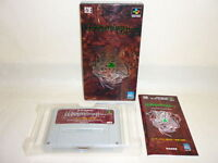 WIZARDRY GAIDEN IV 4 Super Famicom Nintendo sf