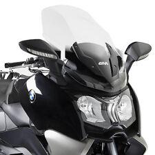 GIVI TRANSPARENT WINDSHIELD HANDGUARD 81x58cm BMW C 650 ST 2012-2016 D5106ST