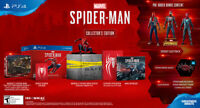 Marvel's Spider-Man Sony PlayStation 4 PS4 Collector's Edition [NOT A CONSOLE]