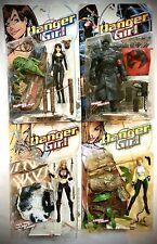 McFarlane Toys Danger Girl Action Figures, Full Set, Lot Of Four